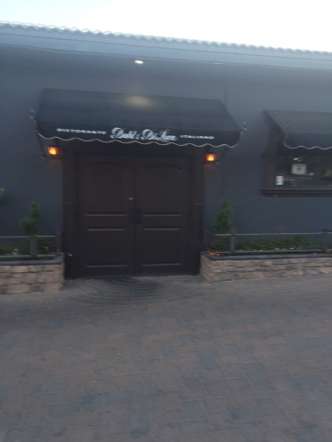 Side Entrance to the Restaurant