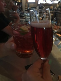 Cheers to us!